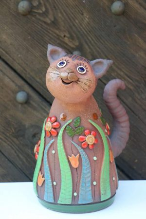 Kočka s loukou, 32 cm