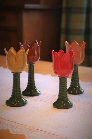 Tulipán – svícen malý, v 15 cm