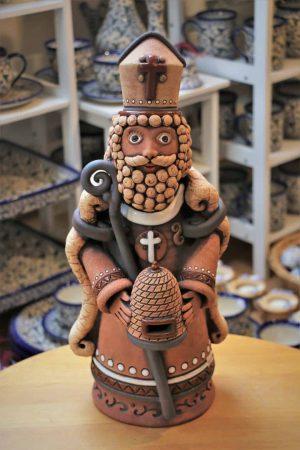 Svatý Ambrož – patron včelařů, 45 cm