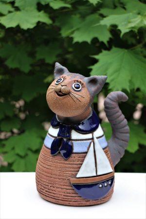Kočka v triku – námořník, v 21 cm